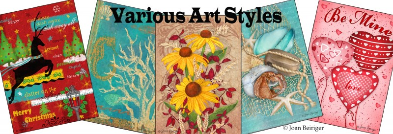 Joan-Beiriger-art-licensing-show-various-art-styles
