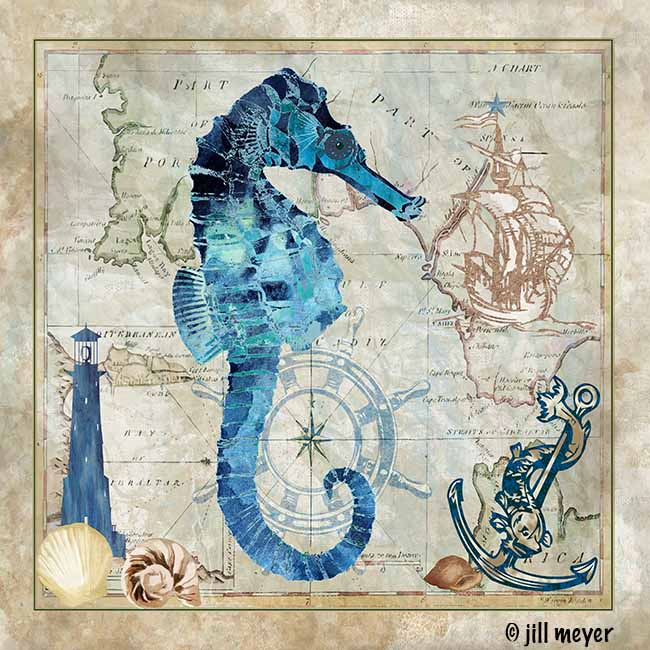 jill meyer-1294C Sea Horse
