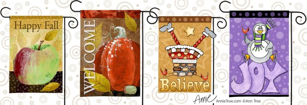 AnnieTroe-GardenFlags-Art-Licensing-Show