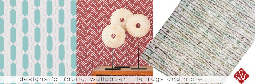 Sarah & Ruby Design Studio Tile Wallpaper Art Licensing Show