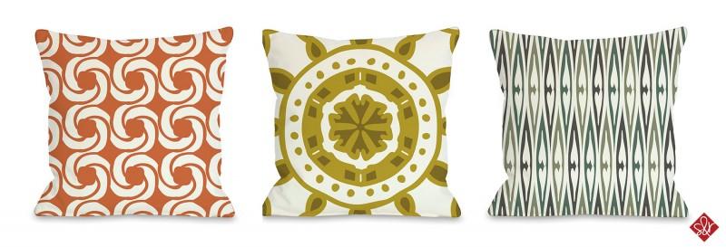Sarah & Ruby Design Studio Pillows Art Licensing Show