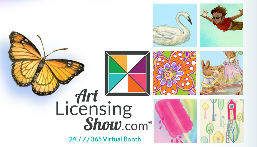 Art for Kids Virtual Art Licensing Show Booth - ArtLicensingShow.com