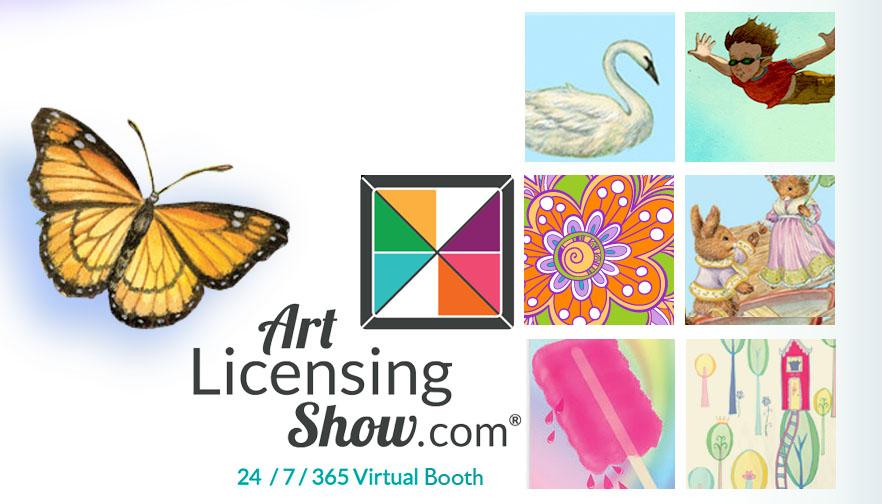 Art for Kids Virtual Art Licensing Show Booth - ArtLicensingShow.com