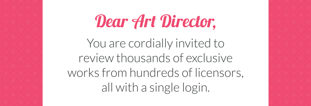 Dear Art Director / Licensing Manufacturer - ArtLicensingShow.com Invitation