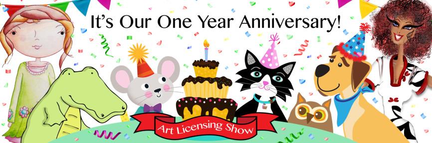 Art Licensing Show - 1st Year Anniversary!