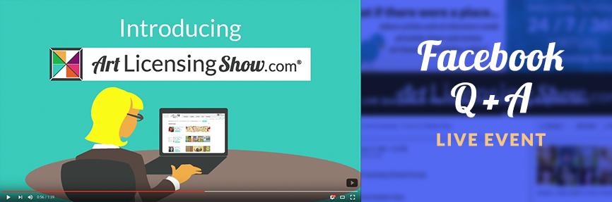 facebook-qnaArt-Licensing-Show