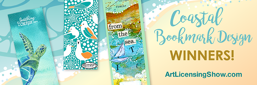 coastal booksmarks design challenge