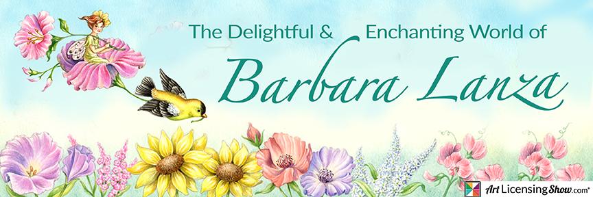 Fairies, elves, watercolor florals