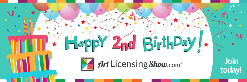 Art Licensing Show Birthday Anniversary Celebration