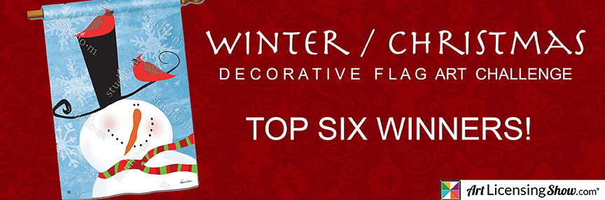 Winter Decor Flagbanner