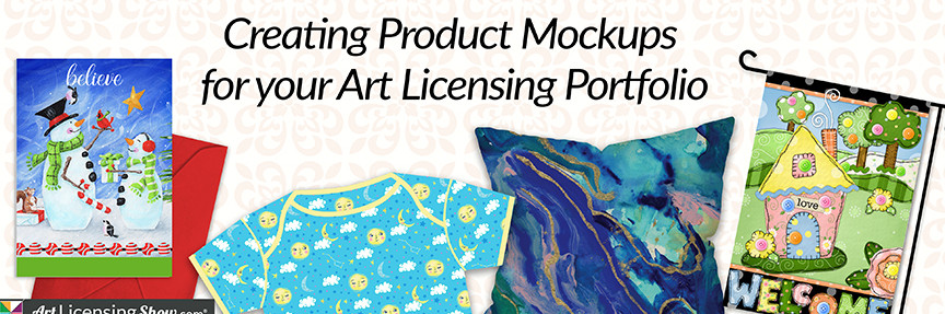 Product Mockups Art Licensing