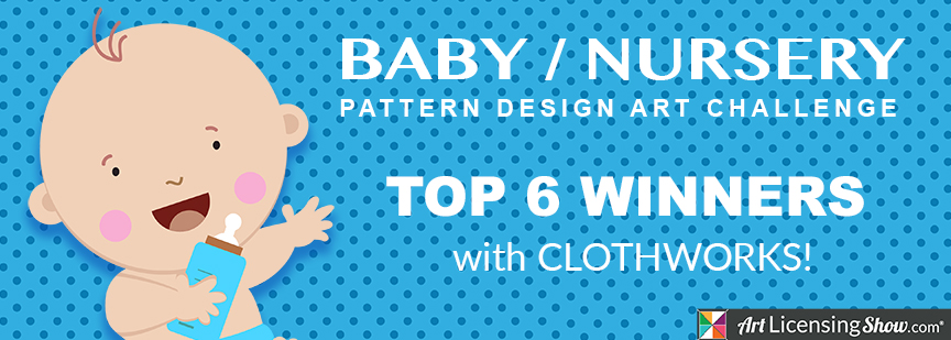 art licensing baby pattern design