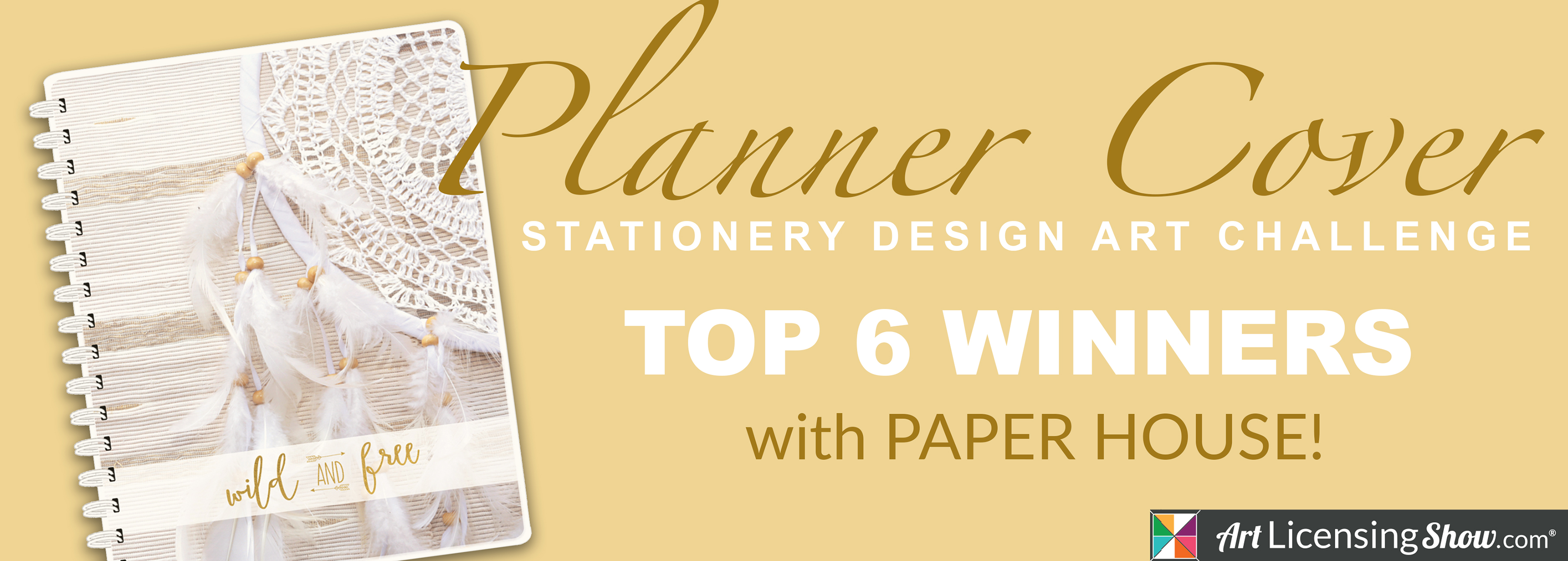 Art Licensing Show Paper House Planner Cover Art Challenge