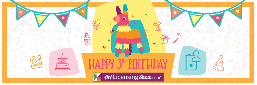 art licensing show 3rd birthday fiesta