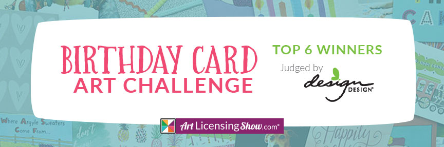 Design Design Birthday Card Challenge Art Licensing Show
