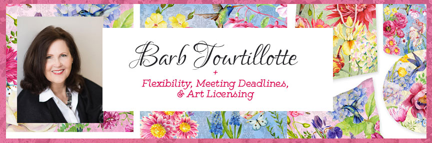 Barb-Tourtillotte-Flexibility-Meeting-Deadlines-Art-Licensing