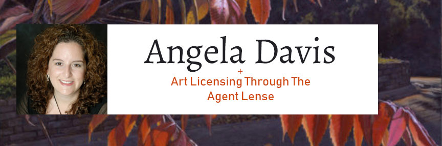 Angela Davis - Art Licensing Agent