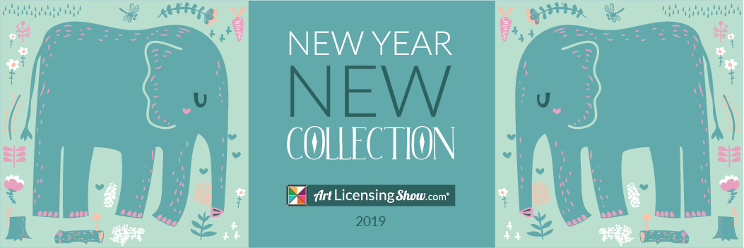 Art Licensing Collections for 2019