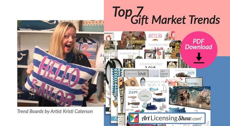 Art Licensing Trends Gift Market 2019