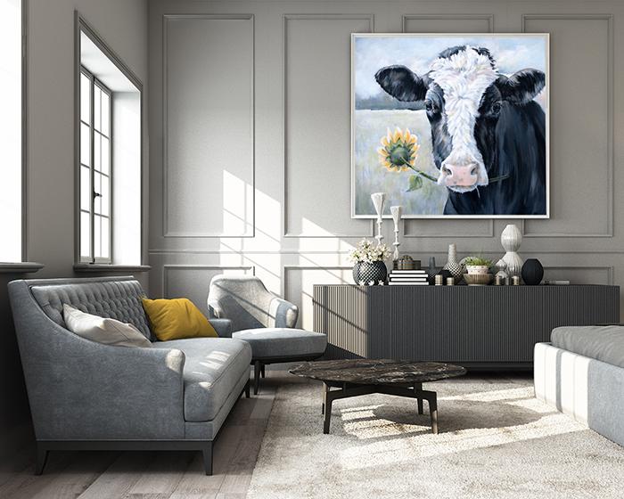 Annie Troe - Sunflower at the Farm